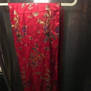 Accessories - Chinese Silk Dragon Scarf - 194